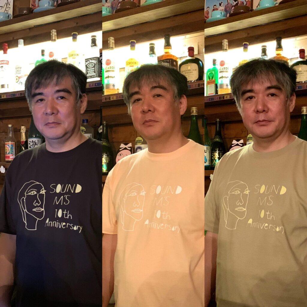 10周年Tシャツ